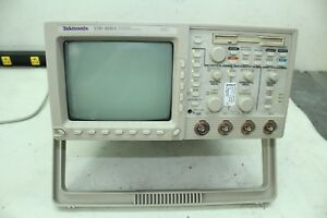 Tektronix Tds460a 400 Mhz 4 Channel Digital Real time Oscilloscope