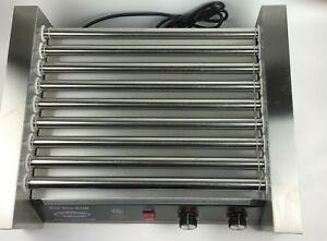 Cozoc Hdg5001 9 Hot Dog Roller Grill Counter Top 22 w X 17 1 4 d X 8 7 10 h