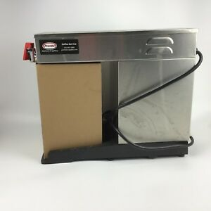Brew Tek Afas Automatic Thermal Airpot Coffee Brewer W Faucetwarmer Commercial