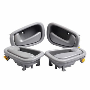 For 1998 2002 Toyota Corolla Prizm Interior Door Handles 2 Left