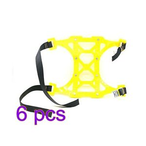 6pcs Thick Tendon Emergency Belt Thickening Tire Chains Snow Anti Skid For Car