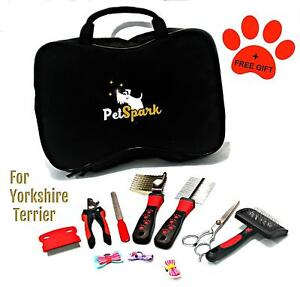 Home Stainless Steel Grooming Kit Yorkshire Terrier Special Design Small Size