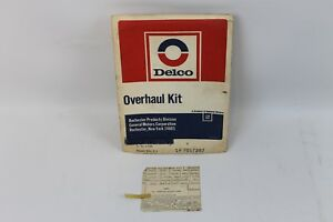 1963 65 Corvette Nos Fuel Injection Overhaul Rebuild Repair Kit Delco Rochester