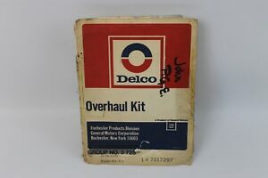 1963 65 Corvette Nos Fuel Injection Overhaul Rebuild Kit Delco Rochester C2