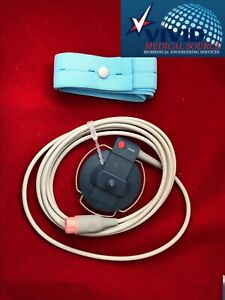 New Hp Philips M1356a Ultrasound Fetal Transducer New Certified 1 Yr Warranty