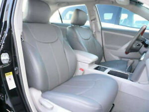 Clazzio Synthetic Leather Custom Seat Covers For 2007 2011 Toyota Camry