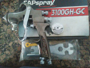 Capspray 3100gh gc Pressure Paint Spray Gun Binks Devilbiss