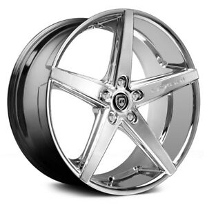 4 new 20 Inch Lexani R4 Chrome Wheels Audi Bmw Mercedes Polaris Corvette Lexus