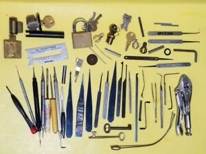 Locksmith Training Tools Starter Practice Kit Locks Padlocks Cylinders Follower