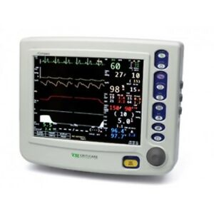 Criticare Systems Ncompass Vital Sign Monitor W co2 And Printer 81h011pd