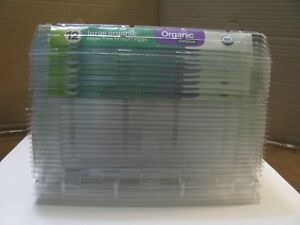 lot qty 33 Clear Plastic Clean Tri fold Large Size Chicken Egg Cartons