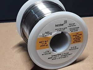 Kester 44 Rosin Core Solder 60 40 031 1lb Spool Price Is For 2 Rolls Sn60pb40