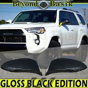 2014 2019 Toyota 4runner Highlander Rav4 Gloss Black Mirror Covers Overlay