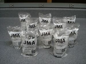 Lot Of 10 Jma Upl dm 78 7 16 Din Male Connectors For 7 8 Plenum Cable