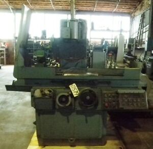 8 X 24 Brown Sharpe Surface Grinder No 824 Dial A Size 2 axis Hyd 22579