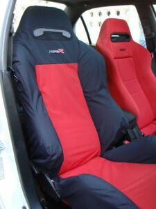 Recaro Honda Civic Type R Ek9 Seats Cover Set 1 Pcs Bicolour