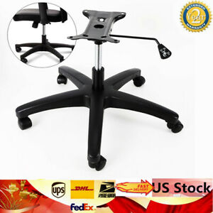28 Inch Office Chair Base Bottom Plate Cylinder Base 5 Wheel Casters Heavy Duty