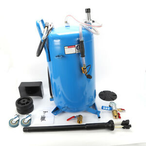 Lift Auto Wheel 76l Waste Oil Drain Air Tank Operated Drainer Oil Change