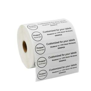Yerppal 4x1 2000p Thermal Blank Shipping Labels Fba For Zebra Zp450 Zp500 Ect