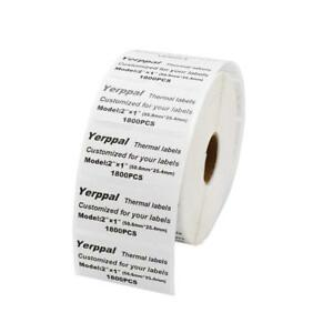 Yerppal 2x1 1800p Direct Thermal Blank Shipping Label For Desktop Printer
