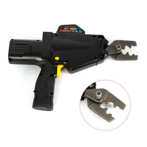 Crimper Battery Power Wire Terminal Crimping Machine Tool New Arrival 8awg 1awg