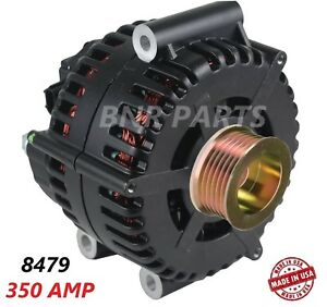 350 Amp 8479 Alternator Ford F Super Duty 6 0 High Output Performance Hd New Usa