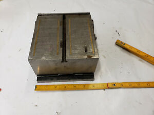 6 X 6 T slot Table Magnetic Grinding Chuck Vise W Sine Plate Fixture Used