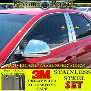 Cadillac Cts Pillar Posts 2008 2009 2010 2011 2012 2013 Stainless Steel 4pc Trim