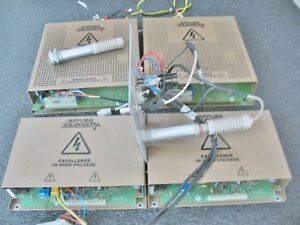 Bruker Applied Kilovolts Hp10r Hp20r Hp30r Lot Of 4 High Voltage Power Supplies