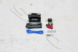 Black Dual Stage Electronic Turbo Boost Controller W Switch
