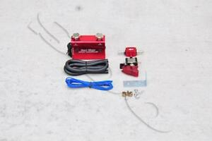 Red Dual Stage Electronic Turbo Boost Controller W Switch