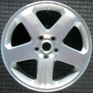 Dodge Charger Machined W Silver Pockets 18 Inch Oem Wheel 2008 2010 1dv24paka