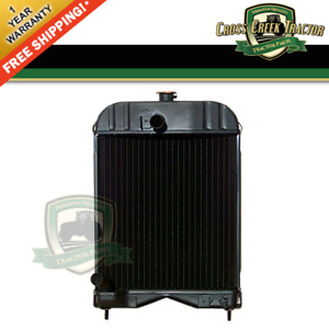 894319m92 New Radiator For Massey Ferguson 35 With A3 152 Perkins Engines