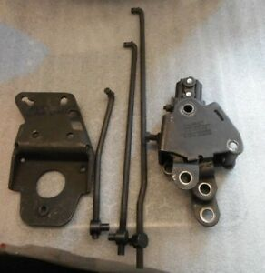 1960s Push Down Hurst 4sp Super Shifter Base And Linkage 8779 Anc Pontiac Chevy