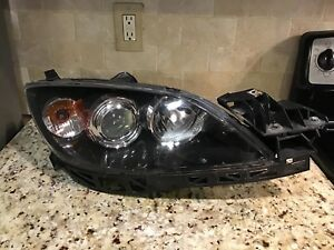 2007 2008 2009 Mazda 3 Hatchback Headlight Xenon Hid Right pass Side 2958