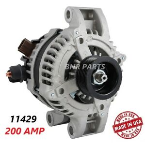 200 Amp 11429 Alternator Ford Mustang 2009 2010 4 0l High Output Performance Hd