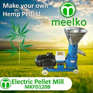 Pellet Mill 3kw 4hp Electric Pellet For Hemp