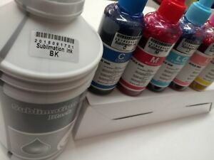 1500 Ml Dye Sublimation Ink For Any Epson Inkjet 1400 1430 79 Or Wide Format