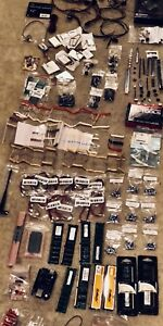 Lot Of Mixed Electronic Components Capacitors Mosfets Trimpots Ram Resistor