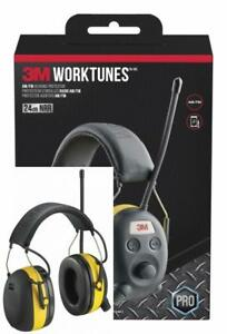 3m Worktunes Hearing Protector With Am fm Radio