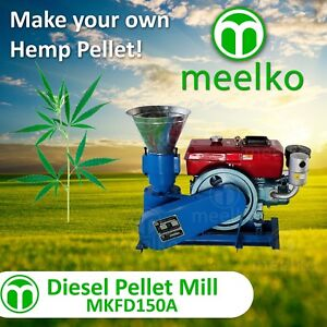 Pellet Mill For Hemp Mkfd150a Usa Stock