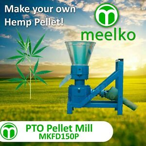 Pto Pellet Mill 150mm Pellet Press Pto Drive To Hemp