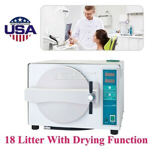 Usa Dental Autoclave Steam Sterilizer Medical Device With Drying Function Gift
