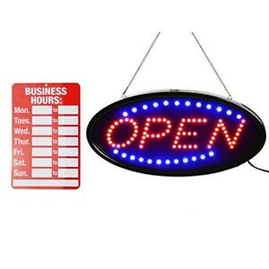 Open Led Sign led Business Open Sign Advertisement Board Electric Display Sign