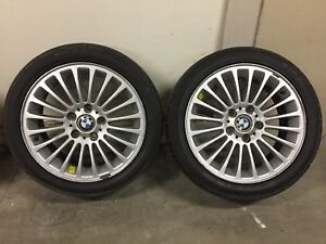 Bmw E39 17 Inch 20 Slot Wheel Tire Set Of 4