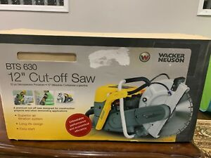 Wacker Neuson Bts 630 Cut off Saw Concrete Saw New