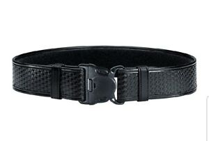 Bianchi Medium 34 40 Waist Black 7950 Basketweave Accumold Elite Duty Belt