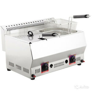 Field Commercial Deep Fryer Frier In Oil Pan Gas Ankemoller Frg 8 8 Lpg