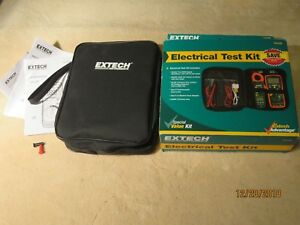 Extech Tk430 True Rms Multimeter And Clamp Meter Kit