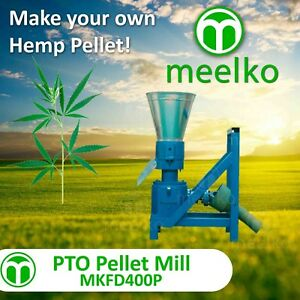 Pellet Mill Pto 400mm Pellet Press Pto hemp